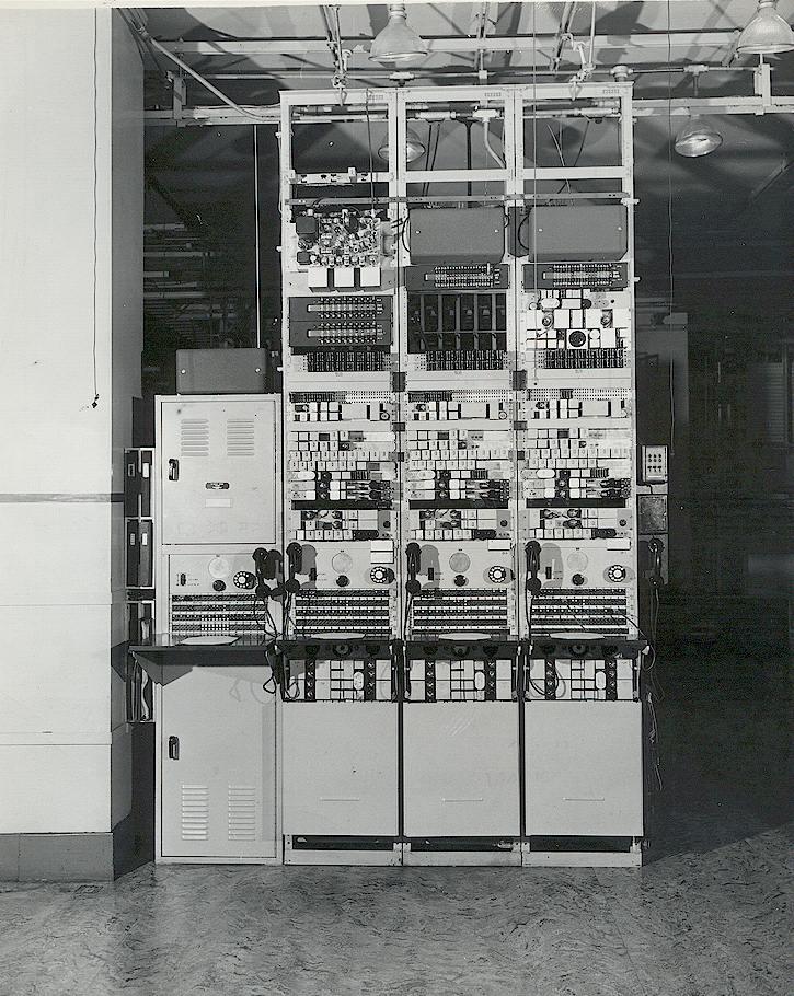 Оборудование центрального коммутатора MTS, Филадельфия