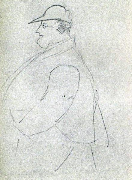 П.Шиллинг, рисунок А.С.Пушкина